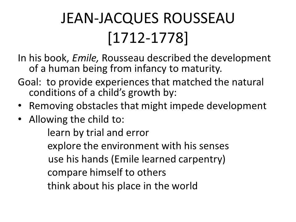 JEAN-JACQUES ROUSSEAU [1712-1778]